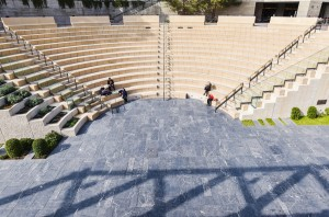 stairs-people-sitting-architecture
